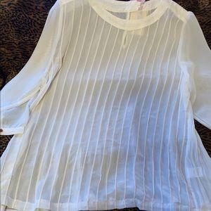 Ladies sheer vintage blouse